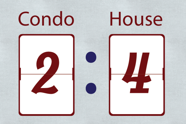 The Great Debate Scorecard: Condo vs House
