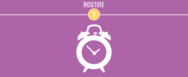 Project UrbanSimplify January Challenge: Routine