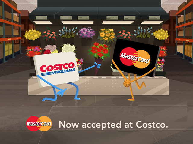 snippet costco to accept any mastercard branded credit. Black Bedroom Furniture Sets. Home Design Ideas